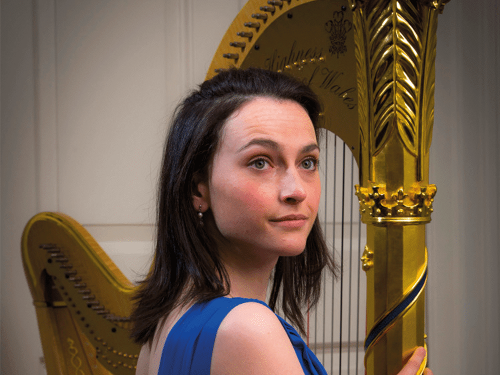 Anne Denholm Official Harpist for HRH Prince of Wales