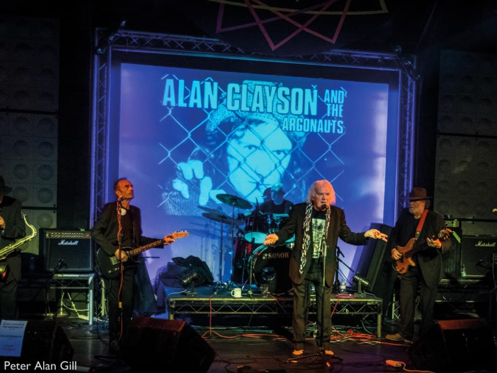 Alan Clayson and The Argonauts copyright Peter Alan Gill