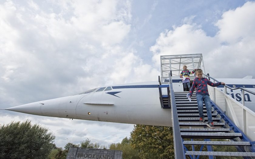 Brooklands Museum Kids Tours on Concordeby Jason Dodd