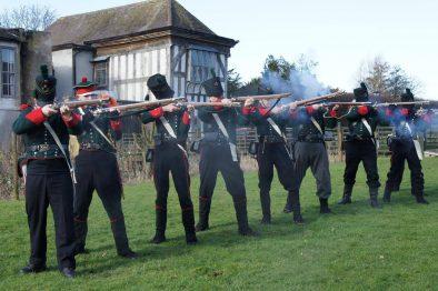 Guildford Middleton Hall Staffordshire Rifleman