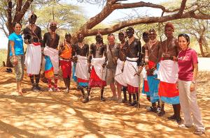 Jeremy and Shalini in Samburu