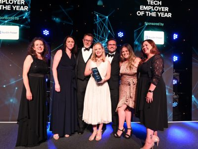 Tech Employer of the Year – Sponsored by Austin Fraser ·  NewOrbit, Chalgrove