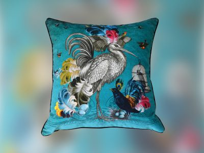Oiseau cushion, Santorus