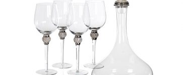 Win! A diamanté decanter and glasses